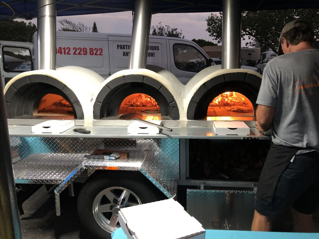 Mobile Woodfired Pizza Ovens